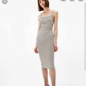 Bodycon stripe dress